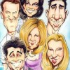 Friends en caricatura