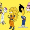 Dragon Ball Z estilo Simpsons
