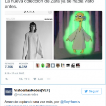 Zara copia a Los Simpson