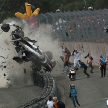 Accidente en Le Mans