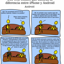 Diferencias entre iPhone y Android