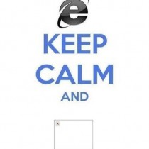 Keep Calm con Windows