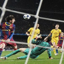Golazo de Messi al Arsenal