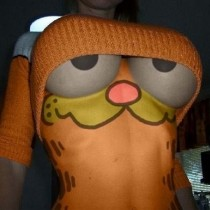 Disfraz original de Garfield
