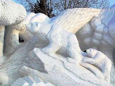 Esculturas de hielo y nieve