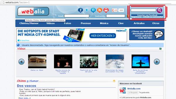 Webalia Facebook