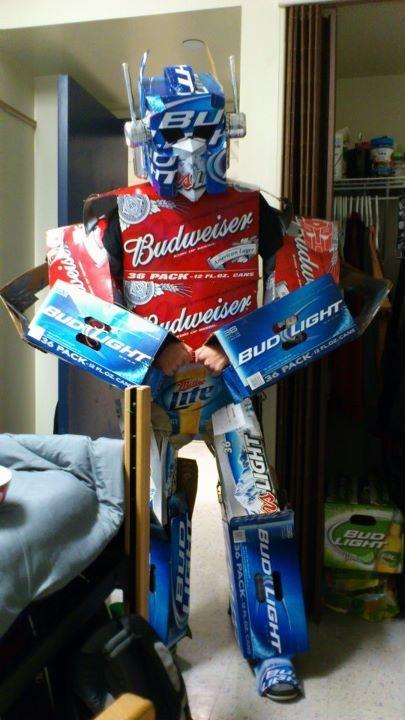 Disfraz de Transformers para Halloween