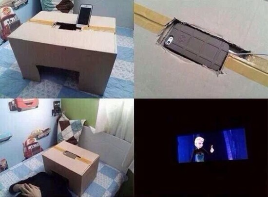 Como hacer tu propio cine privado