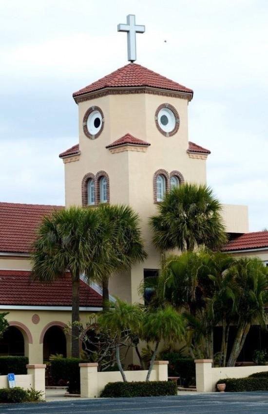 ¿Iglesia o pollo confundido?