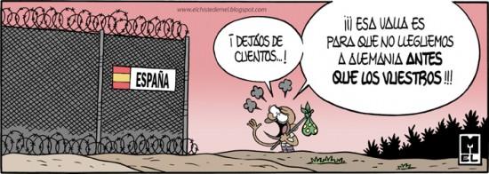 Para lo que realmente sirve la valla de Melilla