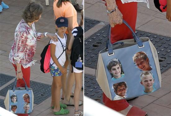 El bolso de la reina Sofía vs el bolso del Rey Juan Carlos