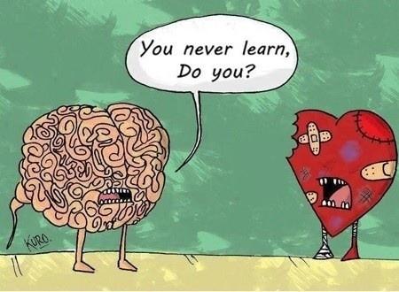 El cerebro charlando con el corazón