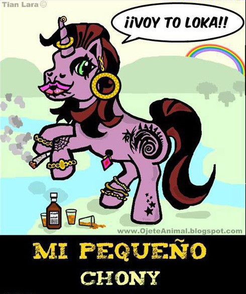 El Choni Pony