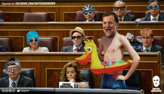Los políticos se van de vacaciones