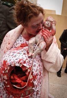 Disfraz de Halloween para embarazadas
