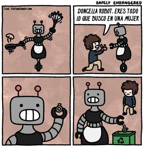 Enamorarse de un robot