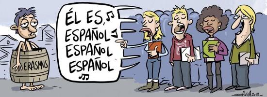 Erasmus españoles