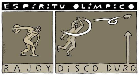 Espíritu olímpico de Rajoy