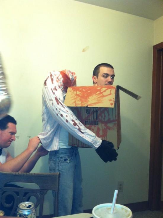 Disfraz de Halloween de tres piezas