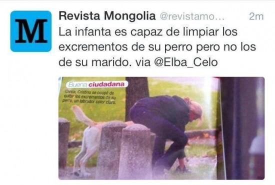 La Infanta Cristina, buena ciudadana
