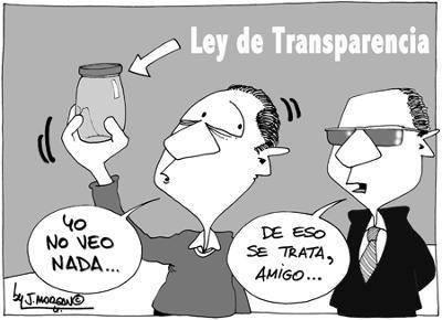 La nueva ley de transparencia
