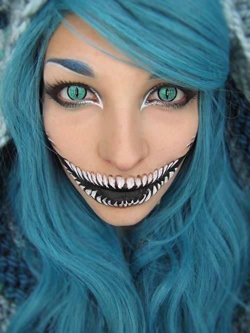 Maquillaje terrorífico