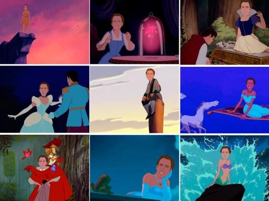 Nicholas Cage es una princesa Disney