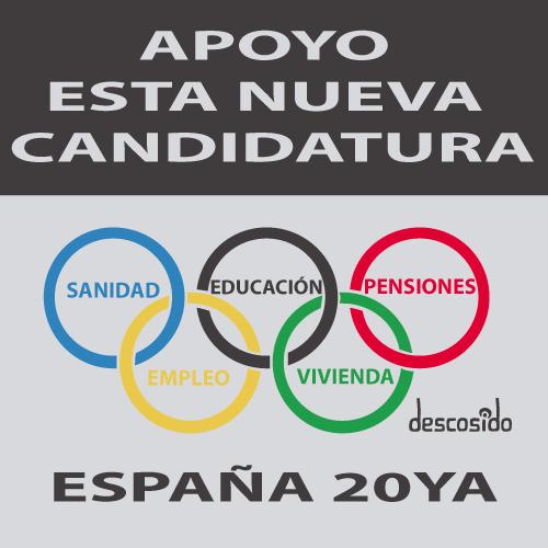 Nueva candidatura olímpica