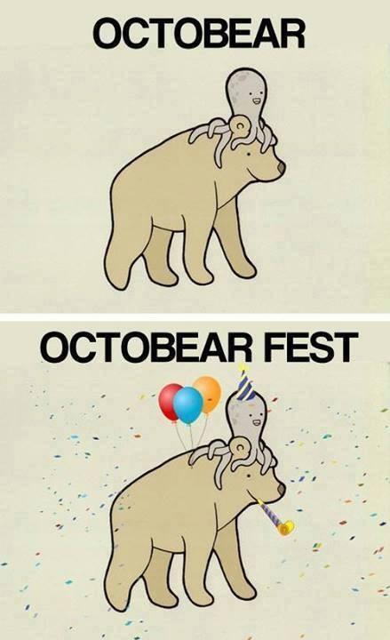 Oktoberfest u Octobear fest
