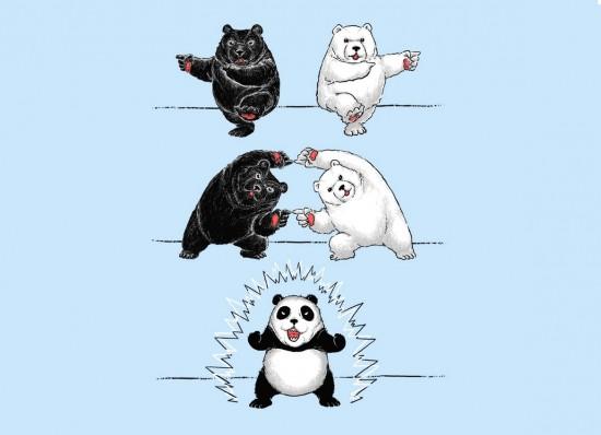 Oso Panda: el origen