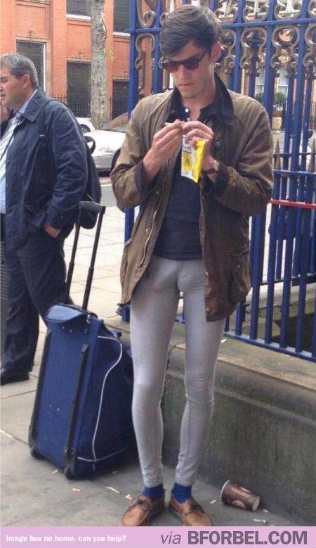 El problema de los pantalones ceñidos