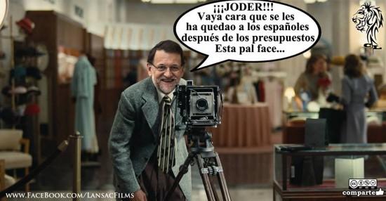 Rajoy después de aprobar los presupuestos