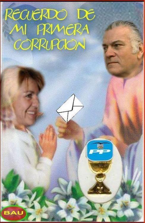 Bárcenas celebra su Primera Corrupción