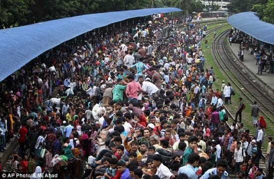 Tren en Bangladesh