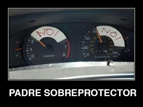 Padres sobreprotectores