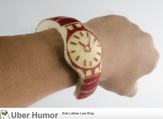 El verdadero reloj de Apple