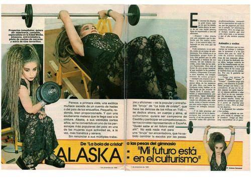 Alaska, la culturista