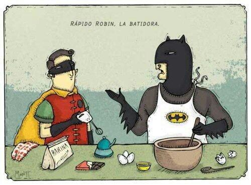 Chistes de Batman y Robin