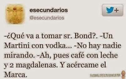 Bebida preferida de James Bond