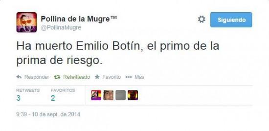 Muere Emilio Botín