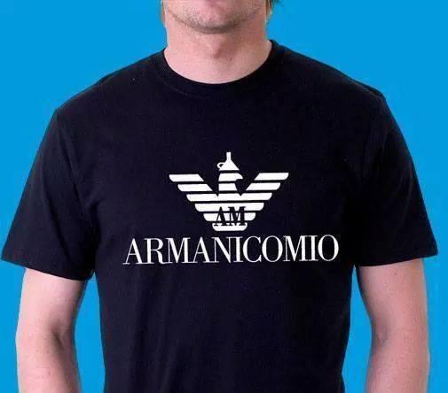 Nuevo modelo camiseta de Armani
