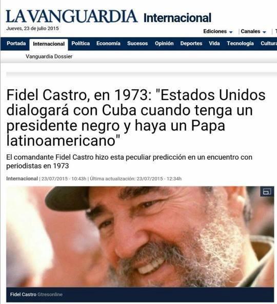 Fidel Castro, el brujo