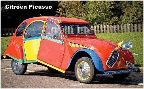 El verdadero Citröen Picasso