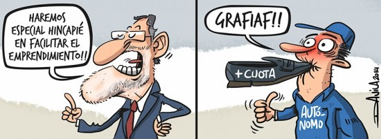 Rajoy favorece el emprendimiento