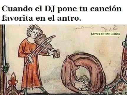 Cuando el DJ pincha tu canción favorita