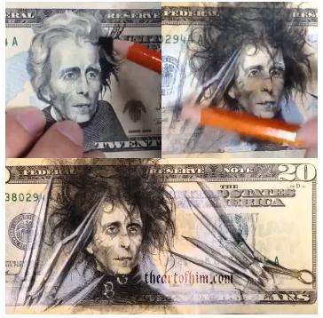 Eduardo Manostijeras en un dólar
