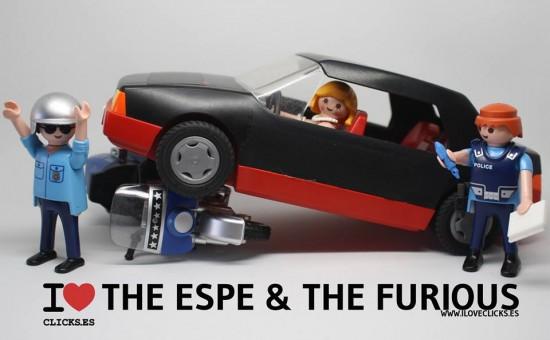 La fuga de Esperanza Aguirre, versión Playmobil