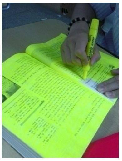 Estudiando para el examen