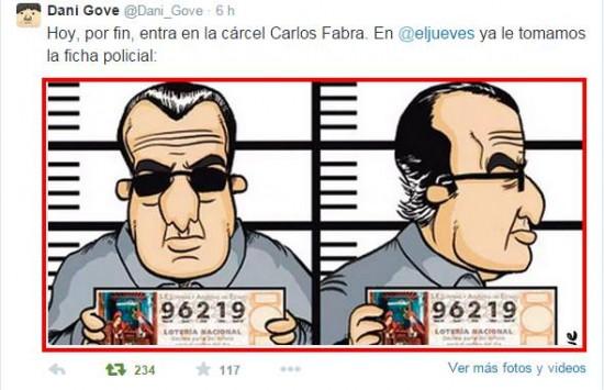 Ficha policial de Fabra