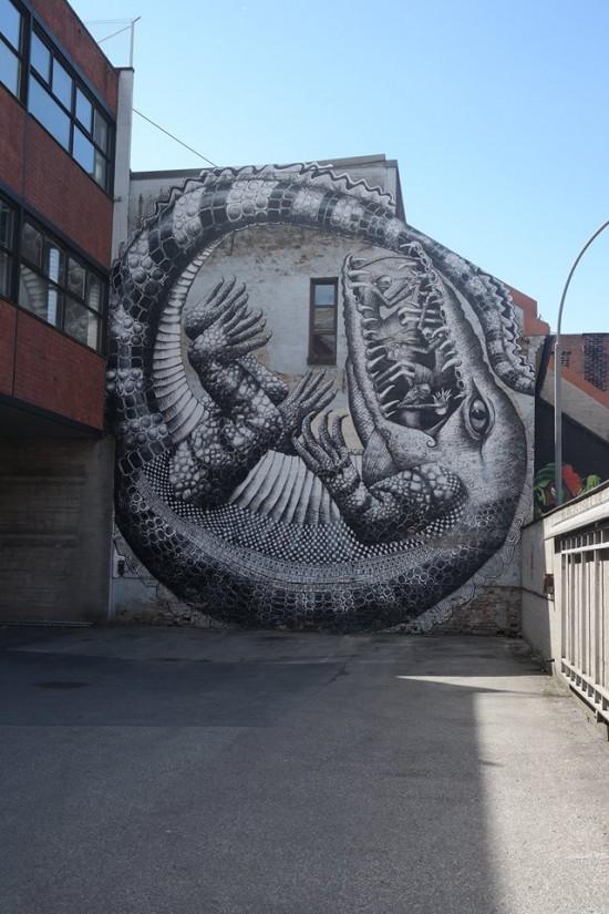 Grafitti en Oslo
